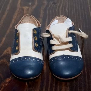 Vintage Leather Baby Deer Shoes